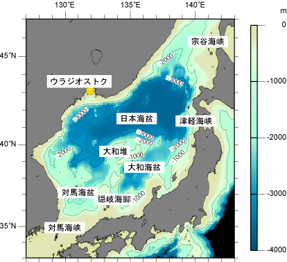 日本海の基礎知識 日本海海洋気象センター