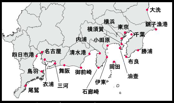 清水 港 満潮